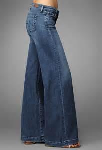 Denim Palazzo Jeans Pants