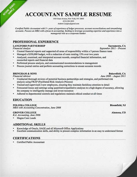 production accounting resume sales accountant 28 images