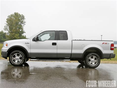 2008 f150 fx4 with leveling kit and max tire size autos post 2004 ford f150 leveling kit
