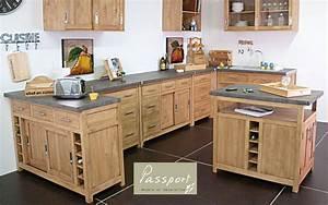 Meuble De Cuisine En Bois : meuble de cuisine meubles de cuisine decofinder ~ Dailycaller-alerts.com Idées de Décoration