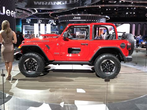 2019 Jeep Wrangler Auto Show by Detroit Auto Show Pictures 2018 Jeep Wrangler Forums