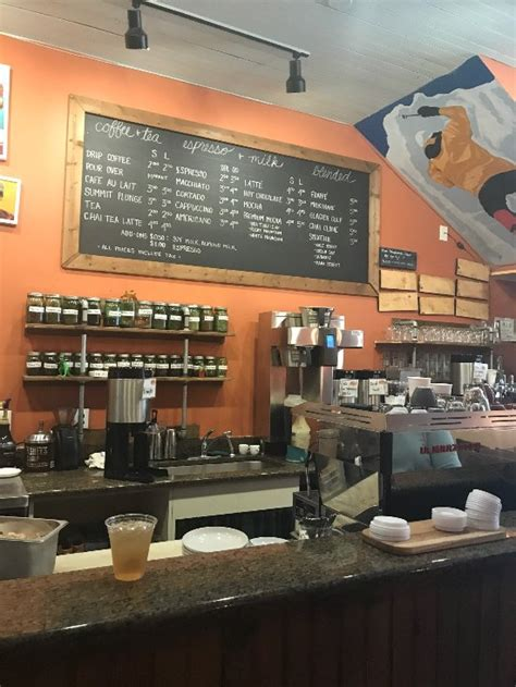 You can look at the address on the map. Summit Coffee, Davidson - Restaurant Reviews, Phone Number & Photos - TripAdvisor