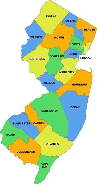 How Many Counties Does New Jersey Have And Which Are The Prettiest And Why? Quora