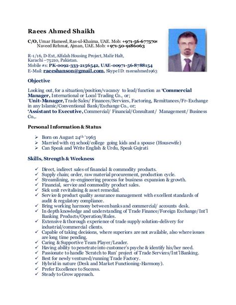 Outlook Resume Templates by Cv Commercial Manager Change Climate So Change Outlook