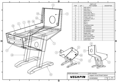 vegapin my noob project cabinet builds virtual
