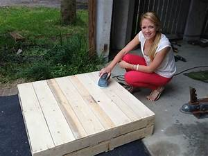diy tutorials diy how to build a pallet coffee table 99 With how to make a coffee table out of pallets