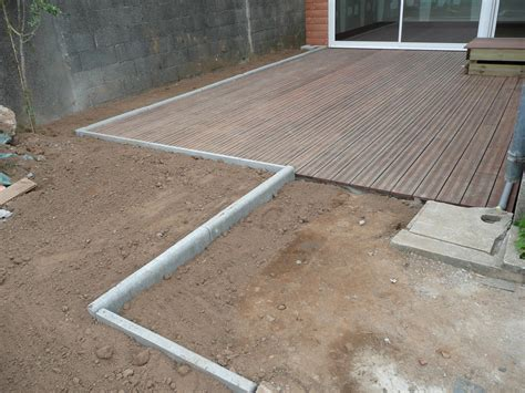 100 pose dalle beton sur lit pose carrelage