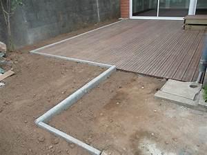 Poser Un Grillage Sans Ciment : poser une bordure beton construction maison b ton arm ~ Dailycaller-alerts.com Idées de Décoration