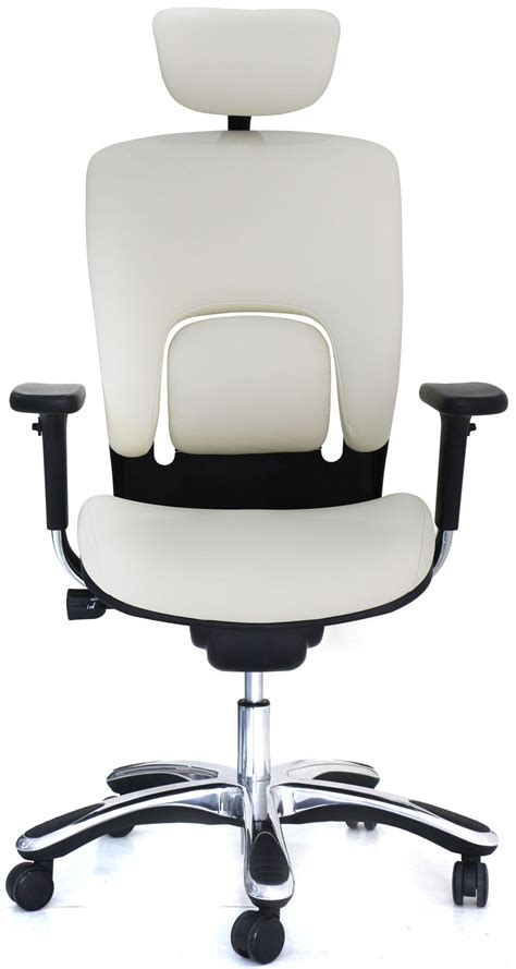 white office chair amazon amazon com gm seating ergolux genuine leather executive