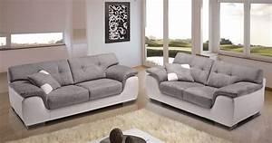 salon avec 2 canaps salon intrieur design salon intrieur With tapis champ de fleurs avec ikea canape cuir relax