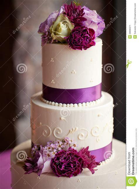 wedding cake  flowers stock image image  bride