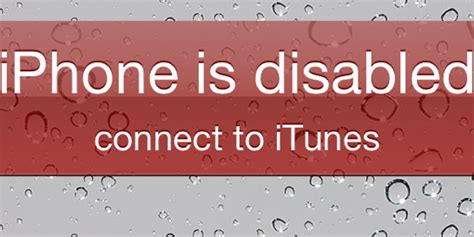 iphone is disabled connect to itunes iphone 5 iphone is disabled error fix without itunes restore