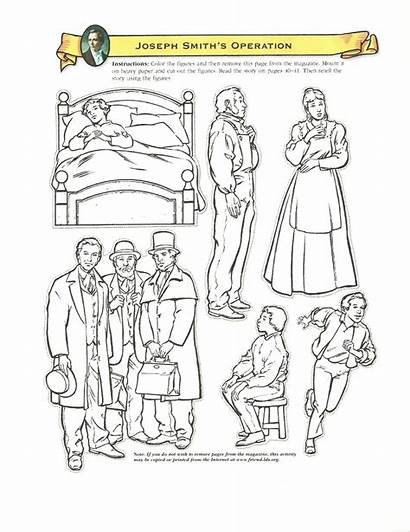 Primary Lds Smith Joseph Coloring Pages Lesson