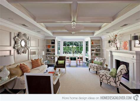 17 Long Living Room Ideas   Home Design Lover