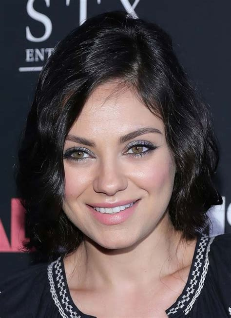 trendy mila kunis hairstyles     today
