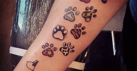 paw print tattoos sammy daisy osbourne bailey charlie