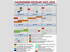 Feccoocyl Calendario escolar curso 20152016