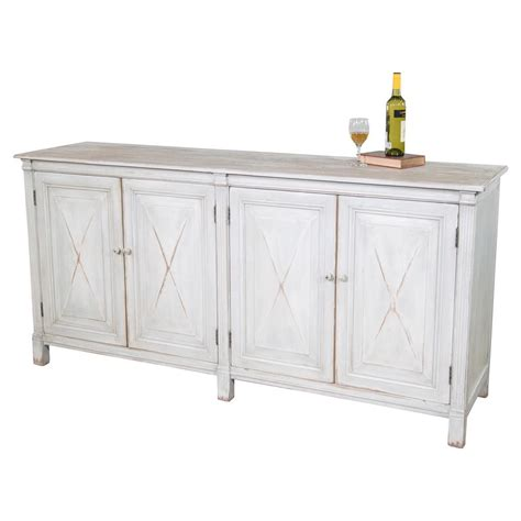 Reclaimed Wood Buffet Sideboard by Sybille Country Grey Reclaimed Wood Buffet Sideboard