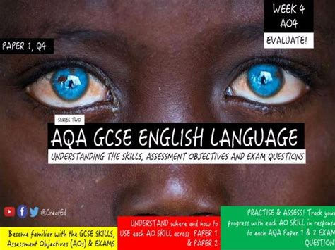 Aqa english language paper 2 question 5 writing improving writing grades 7, 8 and 9 exam tips revision gcse english. New GCSE English Language Skills TEACHING UNIT, AO4 EVALUATE, Paper 1 Question 4.   Teaching ...