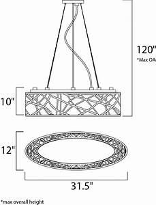 Inca 9-light Pendant - Linear Pendant