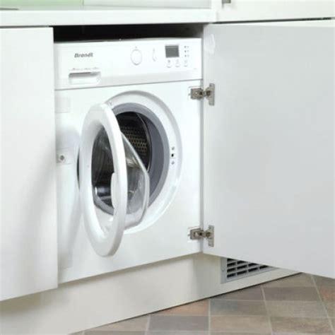 lave linge encastr 233 sous un plan de travail de cuisine