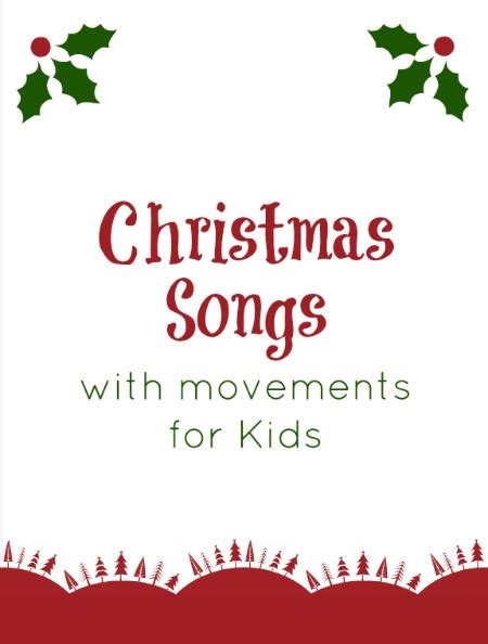 songs 833 | Christmas Songs for Kids Includes movements and sign language