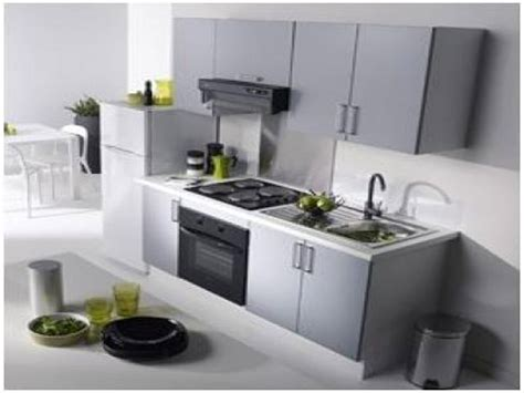 modele de cuisine avec ilot cuisine équipée pas cher cuisine en image