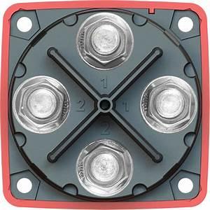 M-series Mini Dual Circuit Plus U2122 Battery Switch