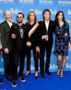 Sir Paul McCartney and Ringo Starr at film premiere The ...