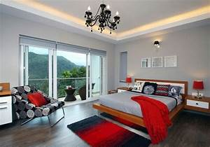 Fashion bedroom wall color combination and design