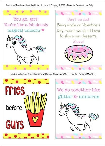 Free Printable Valentine Cards for Teens