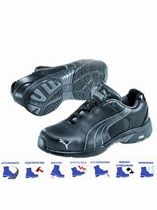 Chaussures De Securite Puma : chaussures de s curit femme puma velocity noires ~ Melissatoandfro.com Idées de Décoration