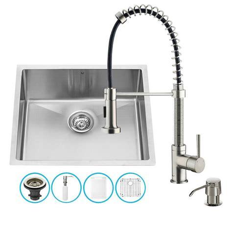 16 undermount kitchen sink vigo stainless steel undermount single bowl kitchen sink 7276