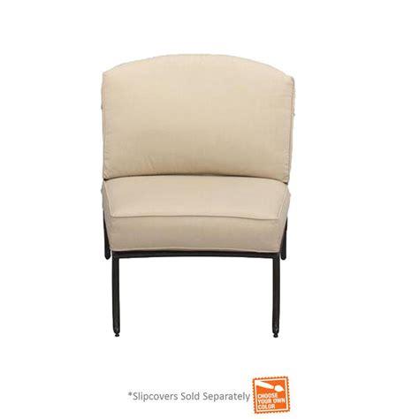Hton Bay Patio Furniture Cushion Covers by Hton Bay Edington Armless Middle Center Patio Sectional