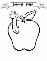 Worm Coloring Apple Pages Clip Clipart Glowworm Print Preschool Cliparts Builder Bob Library Designlooter Little Comments 05kb 1000px Coloringtop sketch template