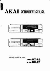 Akai Gx-r6