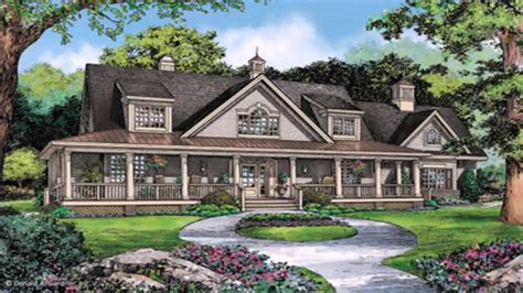 home plans with porches ranch style house plans with wrap around porch and