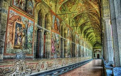 Cathedral Castle Inside Background Wallpapers Cathedrals Wall