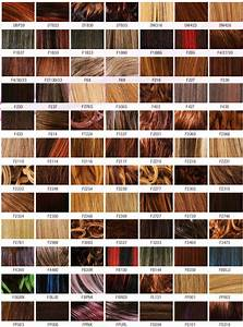 Hair Dye Colors Chart For Coloring Your Hair Accurately Of
