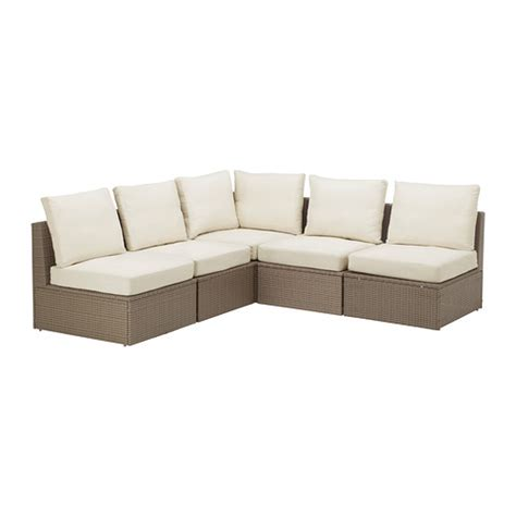 outdoor seating sectional sofa arholma 5 seat sectional outdoor ikea