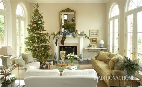 light filled arizona home decked for the holidays
