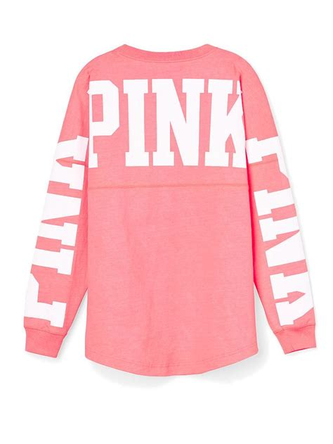 secret sweaters pink varsity crew pink 39 s secret 39 s fashion