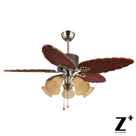 country style ceiling fans southeast asia country style led lights ceiling wood leaf