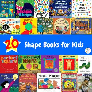 colors and shapes activities for preschoolers with 944 | 20 Shape Books for Kids 1 300x300