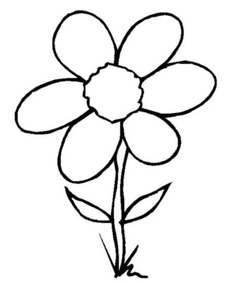 colorings rose flower drawing  kids