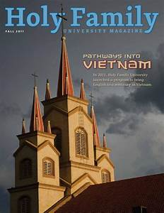 Holy Family University Magazine Fall 2011 by Holy Family ...