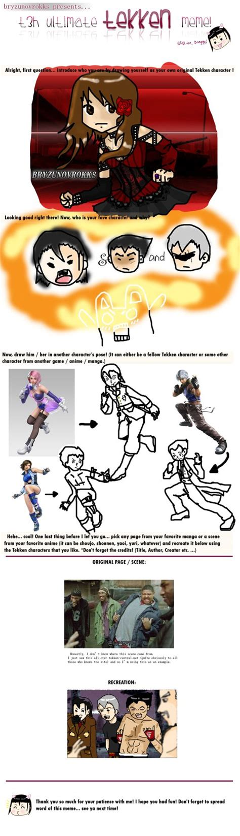 Tekken Memes - image gallery tekken meme