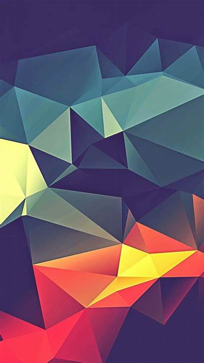 Abstract Mobile Wallpapers Backgrounds Vector Phone Geometric