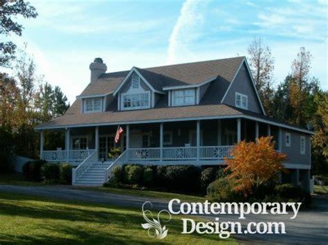 ranch style house wrap porch
