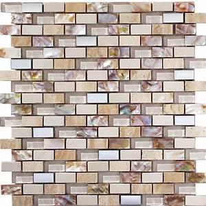 Mosaik Fliesen Perlmutt : mix mosaik aus perlmutt fliesen naturstein und glasmosaik beige ebay ~ Eleganceandgraceweddings.com Haus und Dekorationen